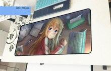 Габриэль выпадающий геймерский коврик для мыши 700x300x3 мм игровой коврик для мыши красивые аксессуары для ноутбуков ПК ноутбук padmouse эргономичный коврик
