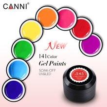 5ml canni gel paint color gel Nail Art Design Manicure Venalisa141 Color Soak Off Gel nail Polish LED Nail art pure color uv gel