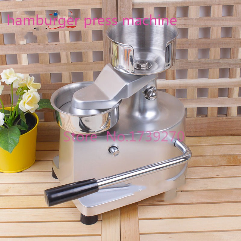New arrival manual  hamburger machine,hamburger press machine,meat patty machine for commerial use alexandra alma womb bloom