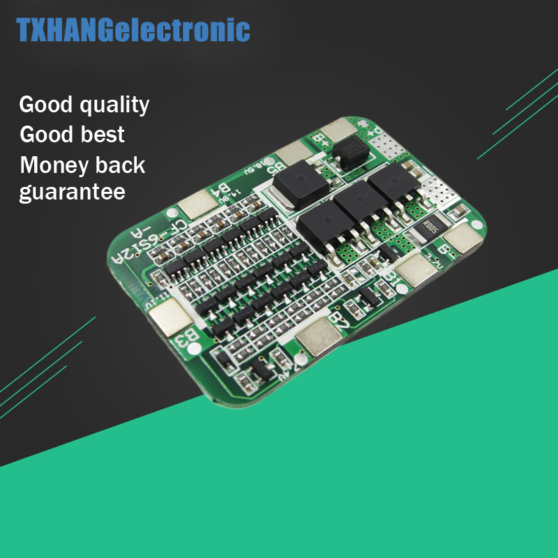 1 Pc Nieuwe Collectie 6 S 15a 24 V Pcb Bms Bescherming Boord Voor 6 Pack 18650 Li-ion Lithium Batterij Mobiele Module Warm En Winddicht