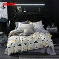 Sisher набор пододеяльников для пуховых одеял с наволочкой  стеганое одеяло  простыня  краткое постельное белье из полиэстера для детей и взро...