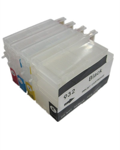 BLOOM compatible 932 933 Refillable ink Cartridge for HP Officejet Pro 6100e H611a/6600e H711a H711g/6700 H711n/7110 H812-in Ink Cartridges from Computer & Office    1