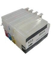 Cartucho de tinta recargable compatible con BLOOM 932 933 para HP Officejet Pro 6100e H611a/6600e H711a H711g/6700 H711n/7110 H812