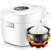 220V 3L Intelligent Electric Rice Cooker Non stick Touch Screen Multifunctional IH Control Heating Rice Cooker EU/AU/UK/US