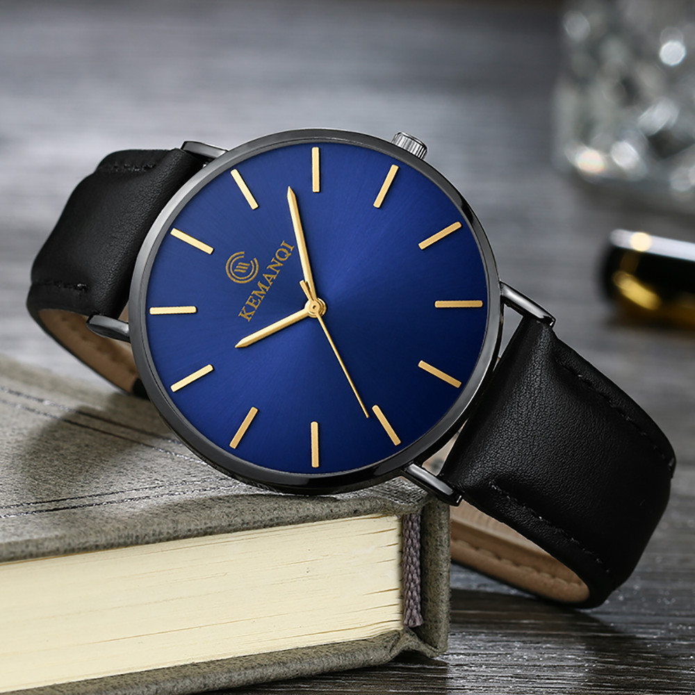 HTB1d3SFaPzuK1RjSspeq6ziHVXaa 6.5mm Ultra-thin Men's Watch 2019 New Fashion Watches Simple Business Men Quartz Watches Male Clock relogio masculino