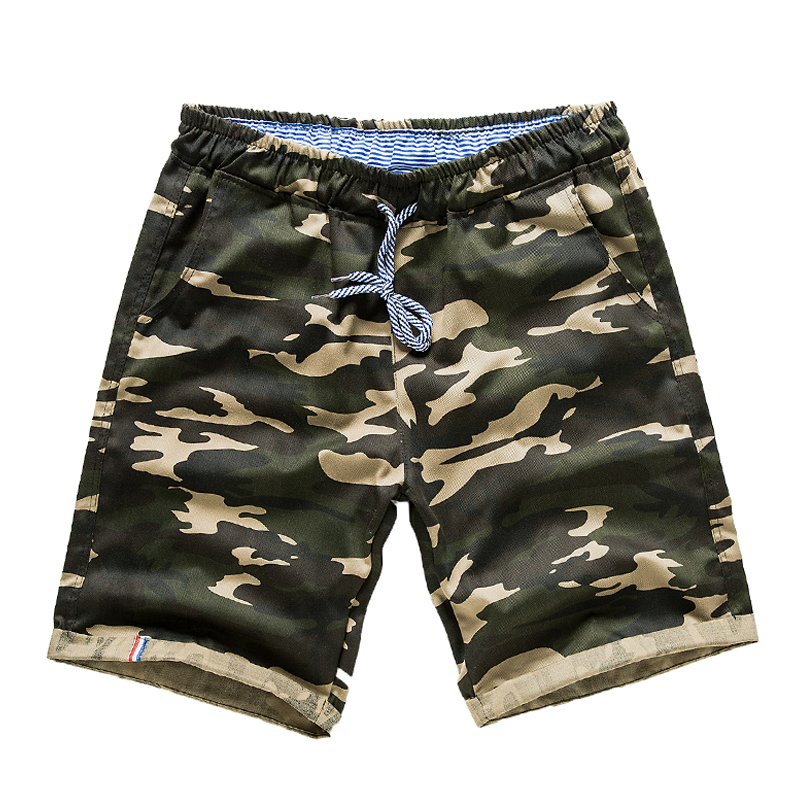 Hot 2018 new men's fashion design camouflage military shorts high quality men's summer hip-hop casual camouflage men's shorts