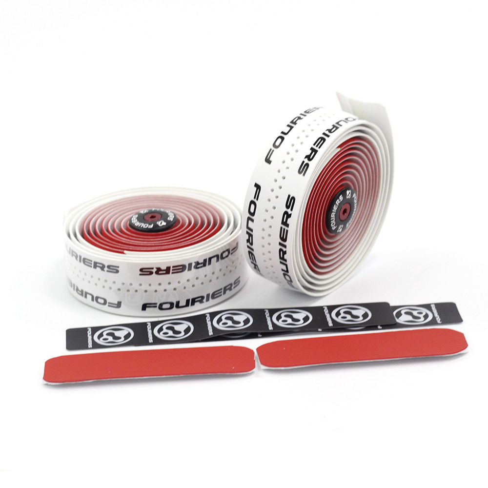 Fouriers Dual Color Bicycle Drop Handlebar Tape Wraps Pu
