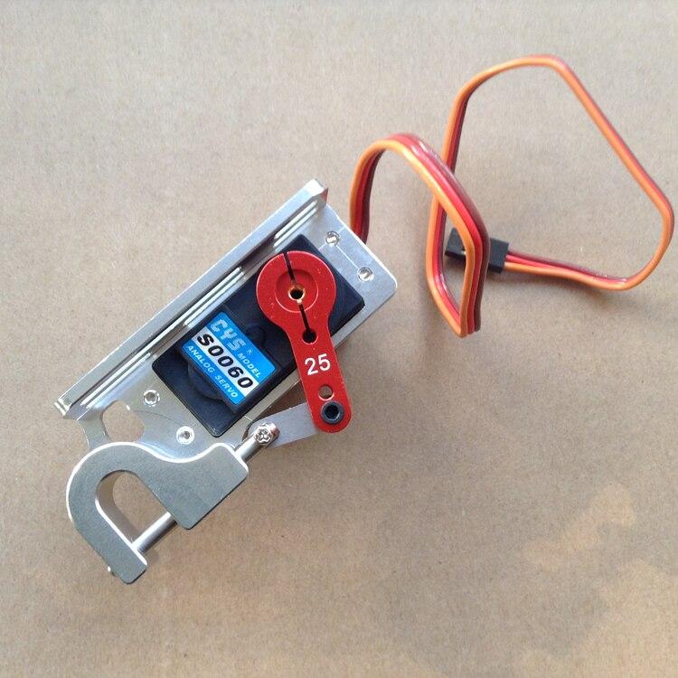 Жестокие Servo диспенсер параболических переключатель устройство высокой точности большой крутящий момент бросок устройство для наживки Boat ...