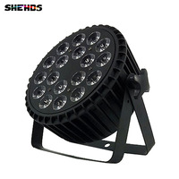 Disco Lamp Stage Light LED Par Can RGBW 4in1 LED Flat PAR DMX512 18x12W For Discos