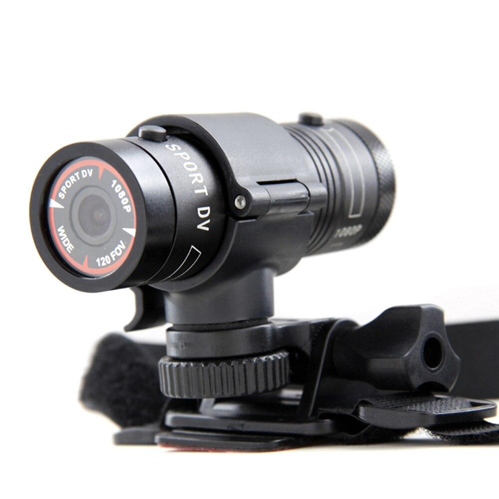 все цены на Mini Waterproof Sports Action Camera Bike Helmet Bracket DVR Digital Video 120 Degree Wide F9 Full HD 1080P DV Camera онлайн