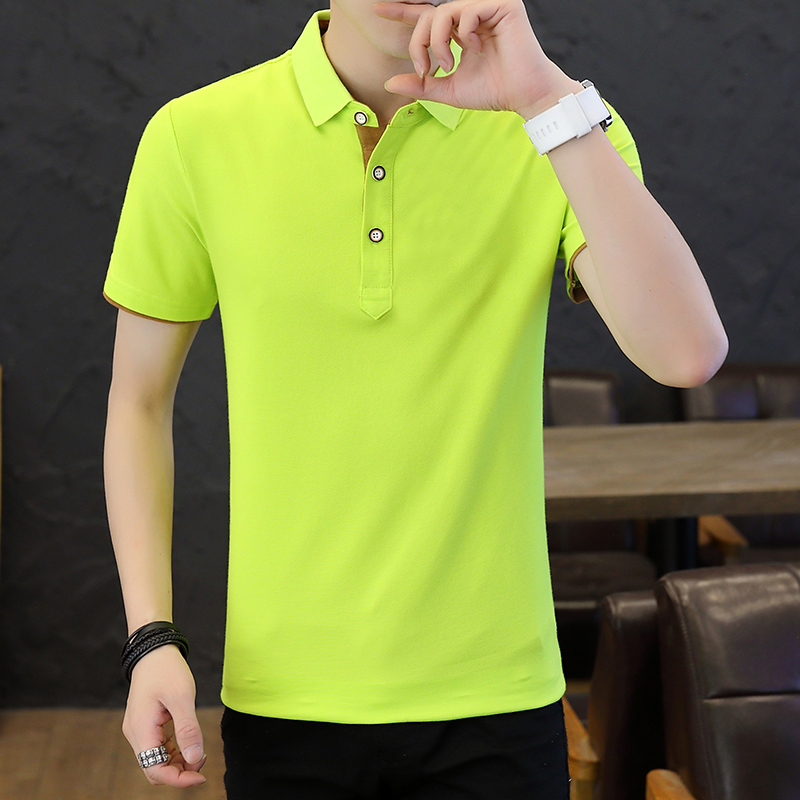 SD Polo Shirts Men 2018 New Arrivals Casual Male Polo Shirts Breathable Cotton Tops High Quality Solid camisa Polos Homme 413 5