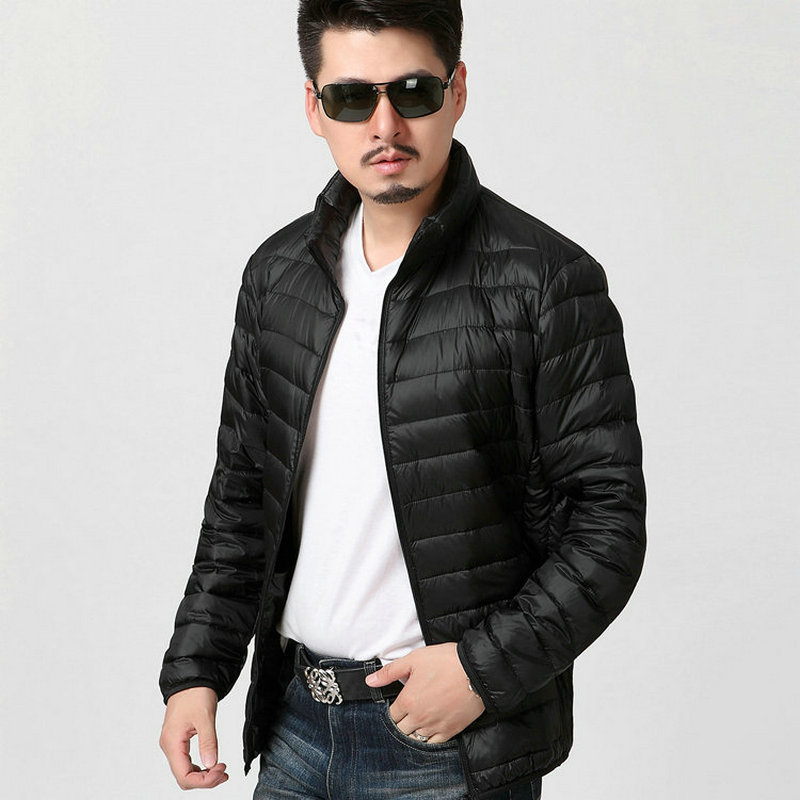 2019 New Harajuku Mens Fashion Autumn Winter Cotton Coat Solid Plus Size Overcoat Zipper Streetwear Jacket Casual Men Clothing