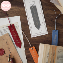 Mr Paper 8 Colors High Quality PU Leather Bookmarks for Novelty Book Reading Maker Page Creative Vintage Style PU Bookmarks sitemap html page 8 page 8 page 5