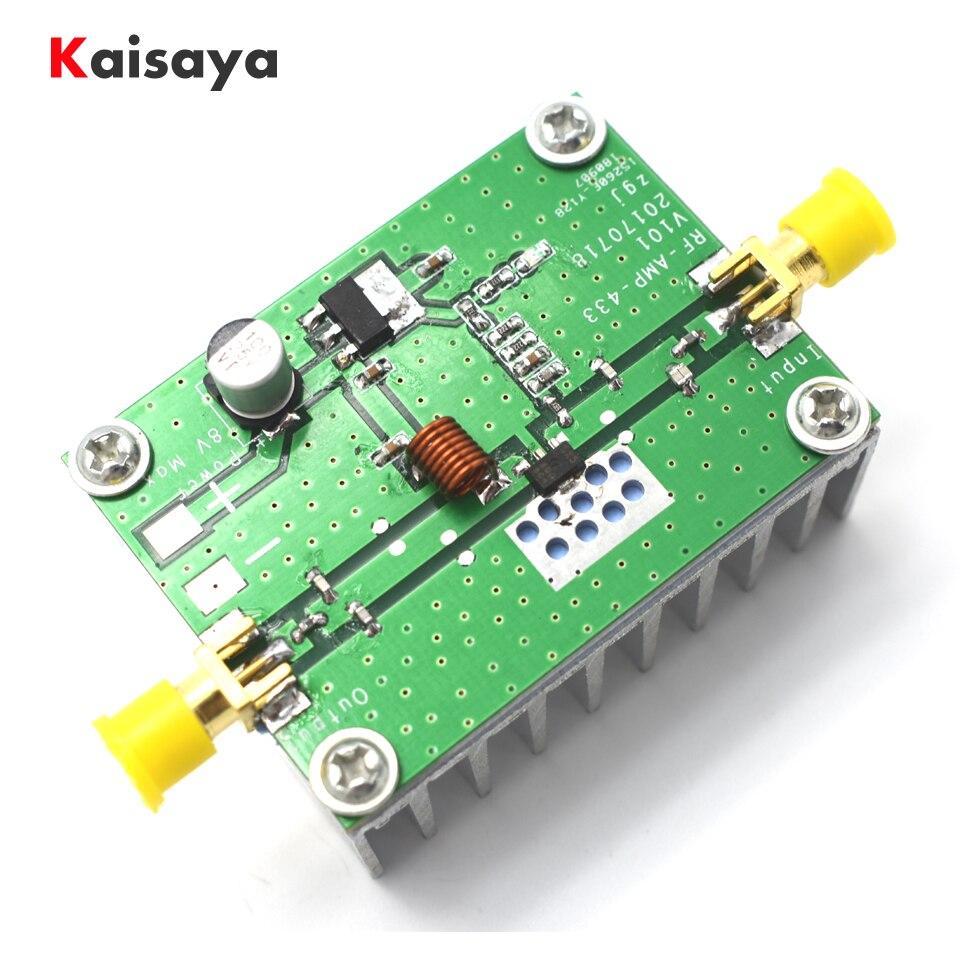 US $15 88 32% OFF|400 460MHz 433MHz 8W Power Amplifier Board RF HF High  Frequency Amplifiers SMA k female Digital Power Amplificador G9 004-in