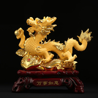 Dragon Zodiac Chinese Home Furnishing living room feng shui lucky decoration
