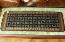 2017 коврик с подогревом терапии камня нефрита матрас-кровать терапия Отопление jade матрас тепловой jade матрас хорошо спать глаз cover50 * 150 см