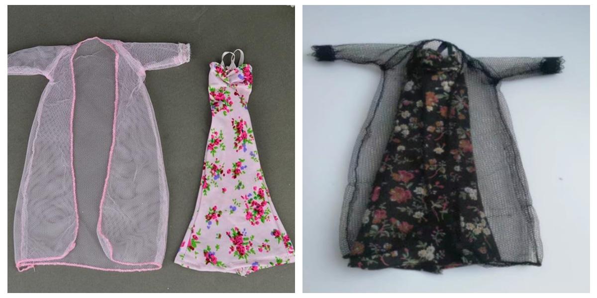 6d6edfdb6b Dropwow 2pcs set Bedroom Pajamas Robe Nighty Bathrobe Clothes For ...