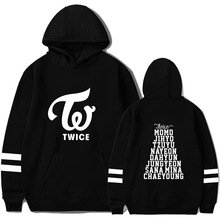 2019 Dropshipping TWICE Same Hoodie Student Men And Women