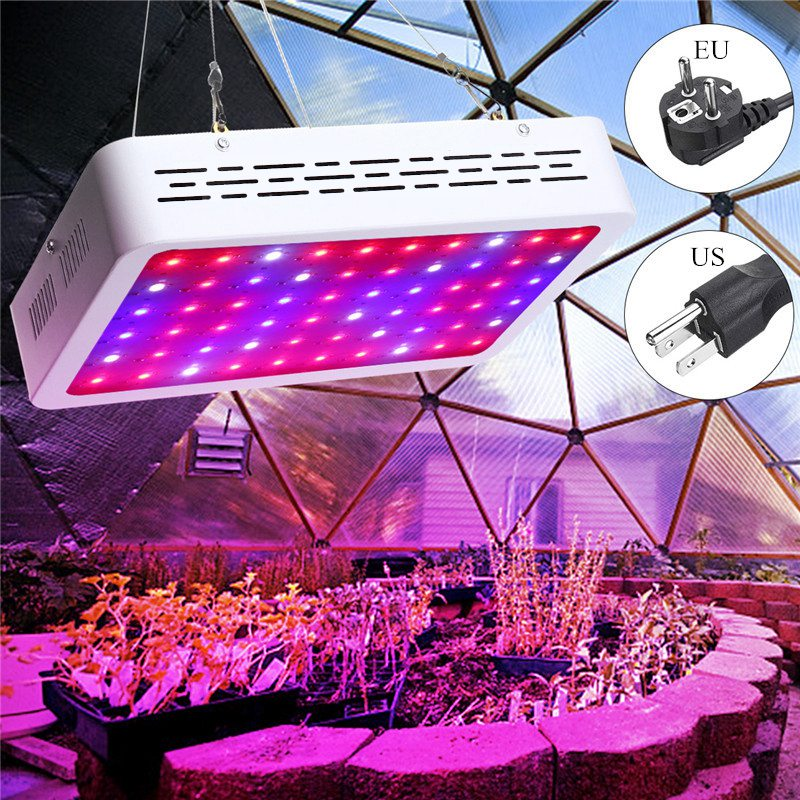 60leds 300W Full Spectrum Led Grow Panel Lamp Led Grow Light 110V 220V For Indoor Greenhouse Grow Hydroponic Veg Tent Plants full spectrum cree chip 300w cob led grow light for hydroponic greenhouse indoor grow tent commercial medical plants lamp