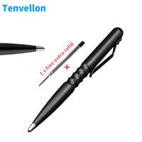 Tenvellon Self Defense Supplies Tactical Pen Simple Package Tungsten Steel Pen tip Personal Security Protection Defense Defence
