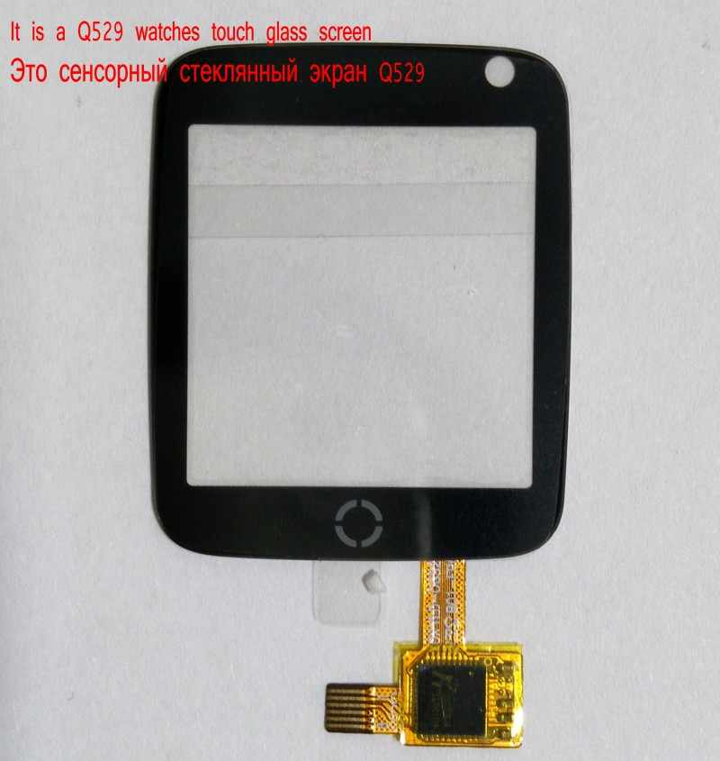 touch glass screen for Q528 Y21 gps tracking watch 1.44 inch It requires professional welding for installation