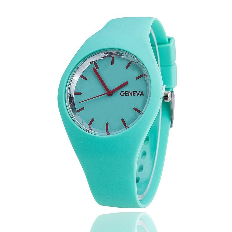 Dropshipping Jelly Silicone Watch Fashion Casual Women Quartz Wristwatches Luxury Ladies Dress Watches Relogio Feminino Hot comfortable knitted square plaid floral hollowed sofa blanket