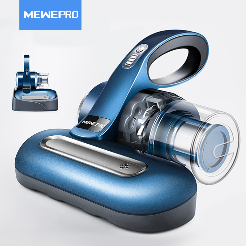 MEWEPRO Anti-Dust Sterilization Handheld UV Vacuums Cleaner with Advanced HEPA filtration Suctions Mites-killing XL-616 цена