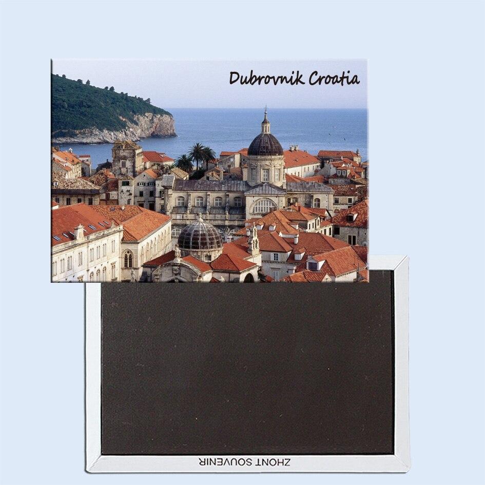 Dubrovnik, Kroatien, magnetisk køleskab, klistermærker, rejse souvenirs, små gaver 24753