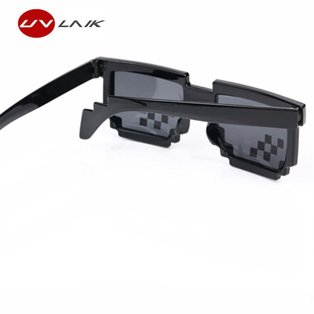 1afd9dcac36 Deal With It Glasses 8 Bit MLG Pixelated Sunglasses Men Women Thug Life  Party Eyeglasses Mosaic
