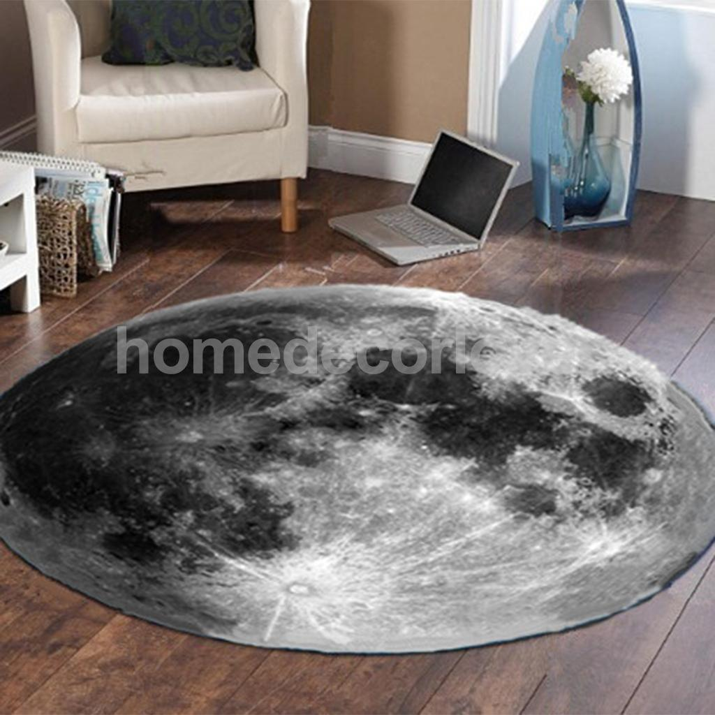 Home Furniture Diy Non Slip Rubber Backing Round Area Rug