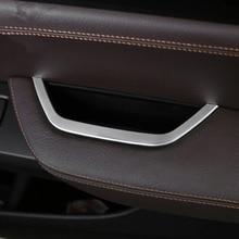Для BMW X3 F25 2011-2016/x4 F26 2013-2016 автомобиль-Стайлинг ABS внутренняя драйвера дверь подлокотник коробка для хранения Рамки крышка отделка 1 шт.