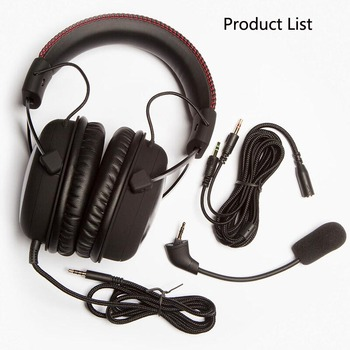 Kingston Original Gaming Headphones HyperX Cloud Core Computer Heandset With a Microphone For PC PS4 Xbox One Mobile Device 2