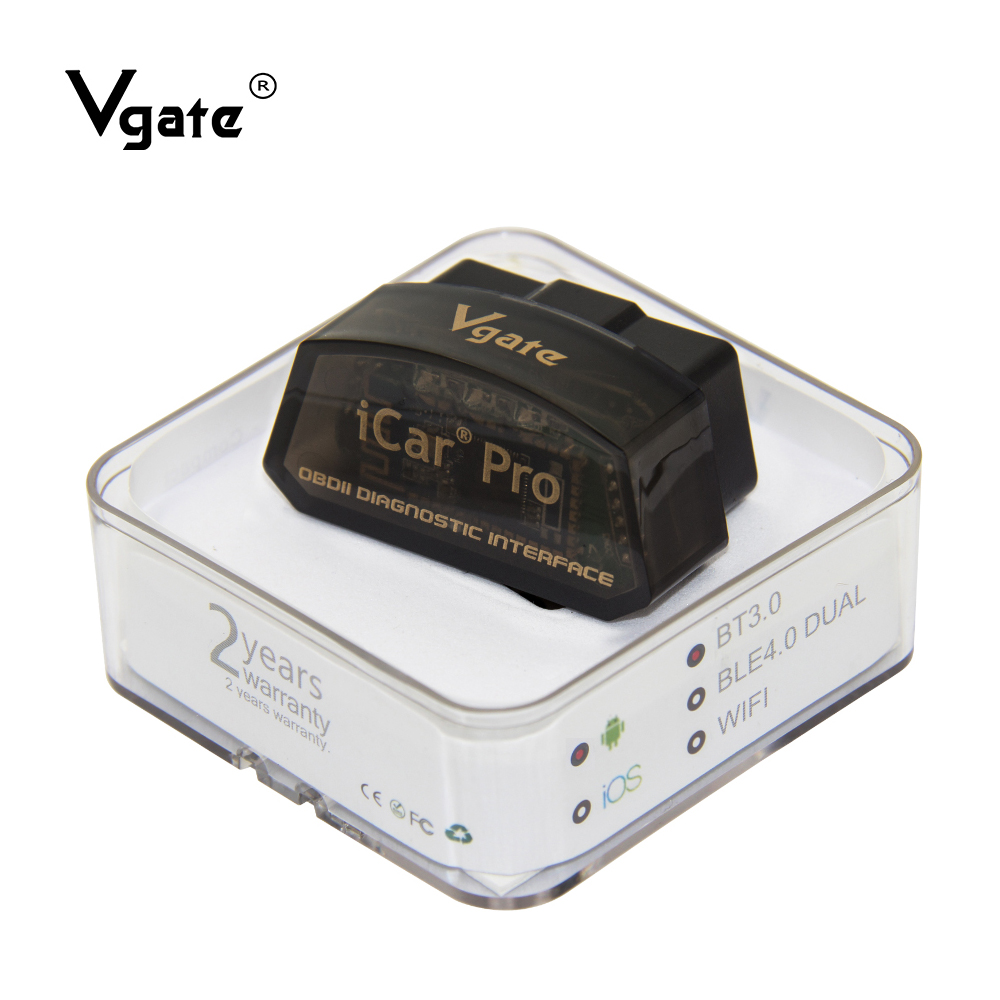 OBD2 Vgate Icar Pro ELM 327 Bluetooth Obd2 Scanner ELM327 Diagnostic Tool Obdii Code Reader Odb2 Car Diagnostics Scan Tool