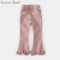Humor Bear 2017 Brands Kids Pants Autumn Baby Girls Pants Cotton Flare Pants Children S Clothes