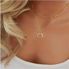 Ltumbe New Arrival Star Cross Crescent Dove Simulated Pearl Clavicle Chain Pendant & Necklaces for Women Party Gift Jewelry