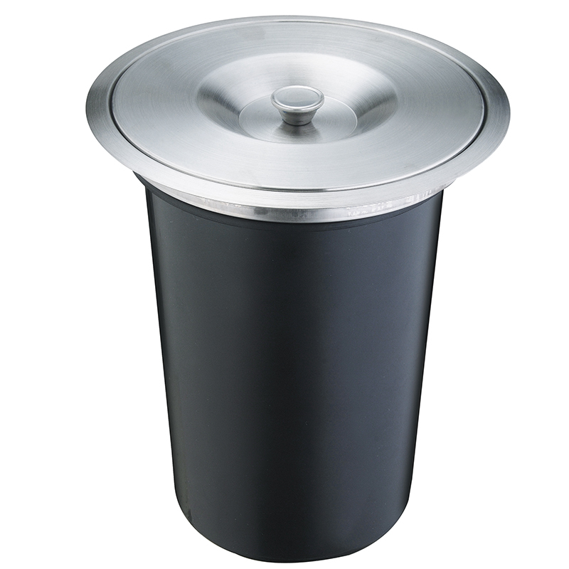 Favorite 8L Factory Quality Built in Trash Can Kitchen Waste bin Stainless  SU33