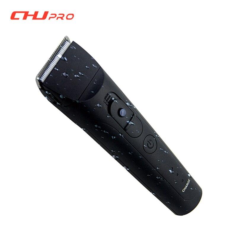 CHJ tondeuse tondeuse 7 niveaux étanche Rechargeable rasoir électrique 4 heures utilisation tondeuse à barbe Machine de découpe