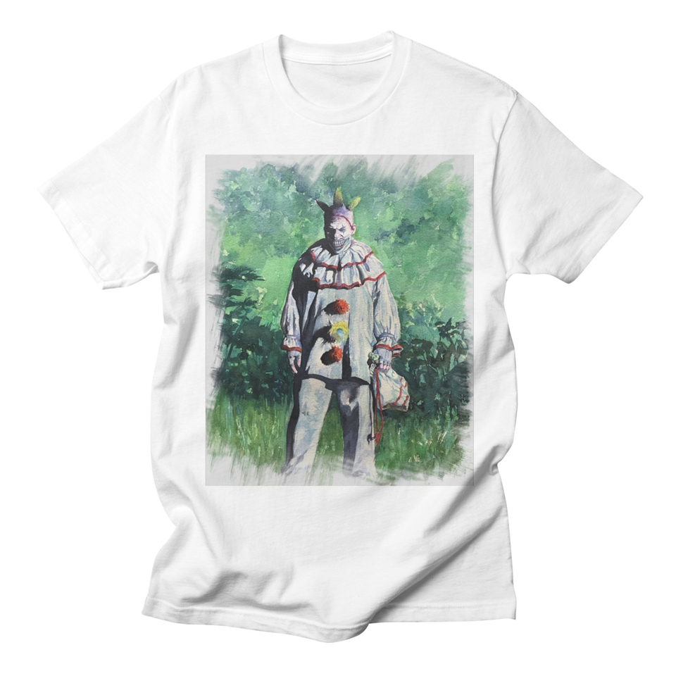 King and Jester White T Shirt Women Cotton Halloween Fashion High Quality Tracksuit Streetwear Casual Women Tshirt Plus Size 3XL
