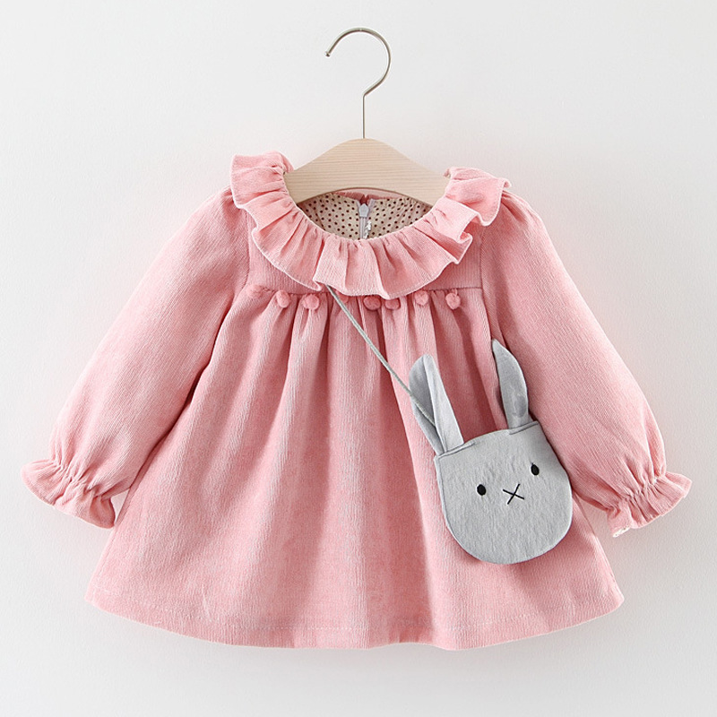b447e9f0babe Detail Feedback Questions about Baby Girls Dresses 2018 New Spring ...