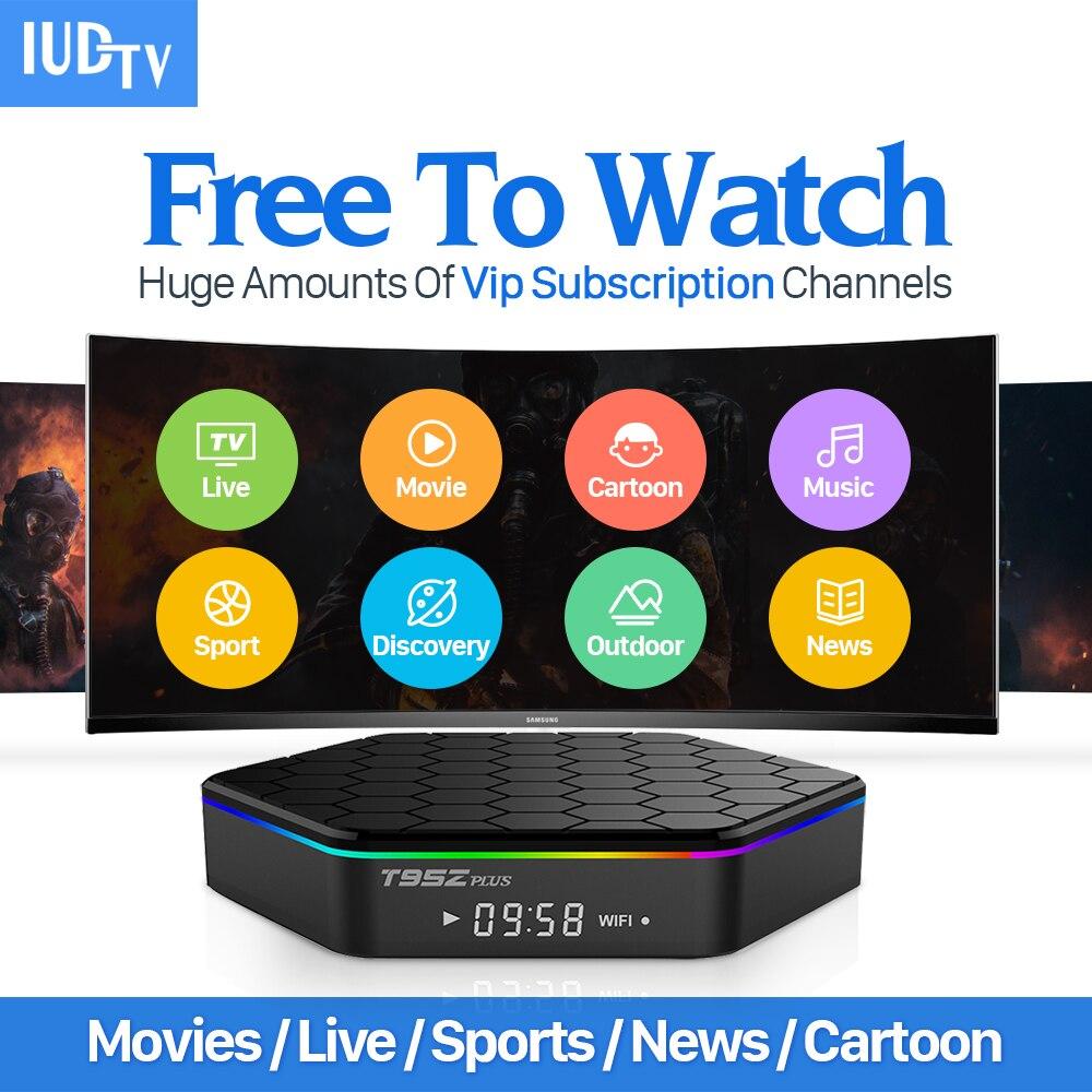 Sport Live T95Zplus Smart Android 6.0 TV Box S912 Octa Core 2000...