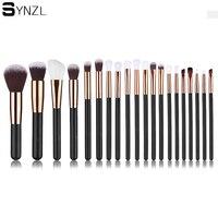 20pcs Rose Golden Pink Makeup Brushes Set Cosmetic Make Up Tools Kit Powder Foundation Eyes Eyeliner