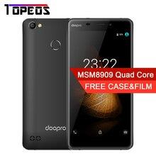Doopro C1 Pro 5.3 pouce 8MP MSM8909 Quad Core Android 6.0 Mobile Téléphone 2 GB RAM 16 GB ROM 4G 4200 mAh D'empreintes Digitales Smartphone