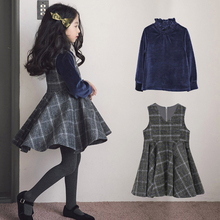 2017 Teenage Girls Clothing Set Two pcs Costumes Fashion Design Lucky Baby Child Age5 6 7 8 9 10 11 12 13 14T Years Old Kids