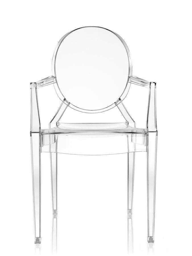 elegent acrylic ghost chair with armslucite dining chairs