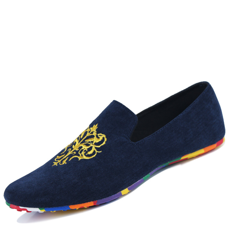 Men Canvas Shoes Loafers Men Casual Shoes Light Comfortable Red Men Flats Driving Shoes Men Espadrilles Footwear Hot Sale in Men 39 s Casual Shoes from Shoes