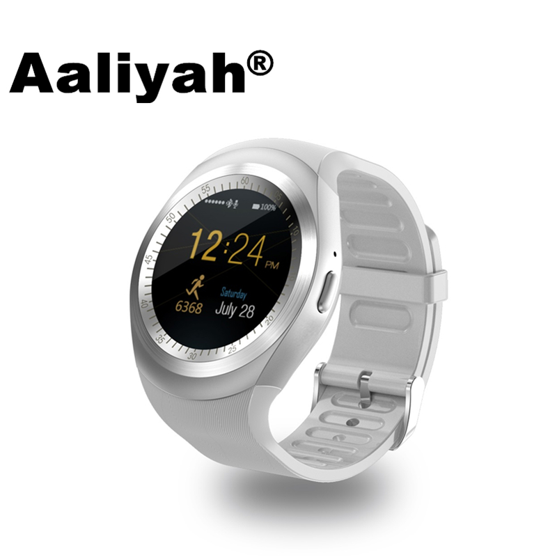 Aaliyah Y1 Smart Watchs Round Support Nano SIM TF Card With Whatsapp And Facebook Men Women