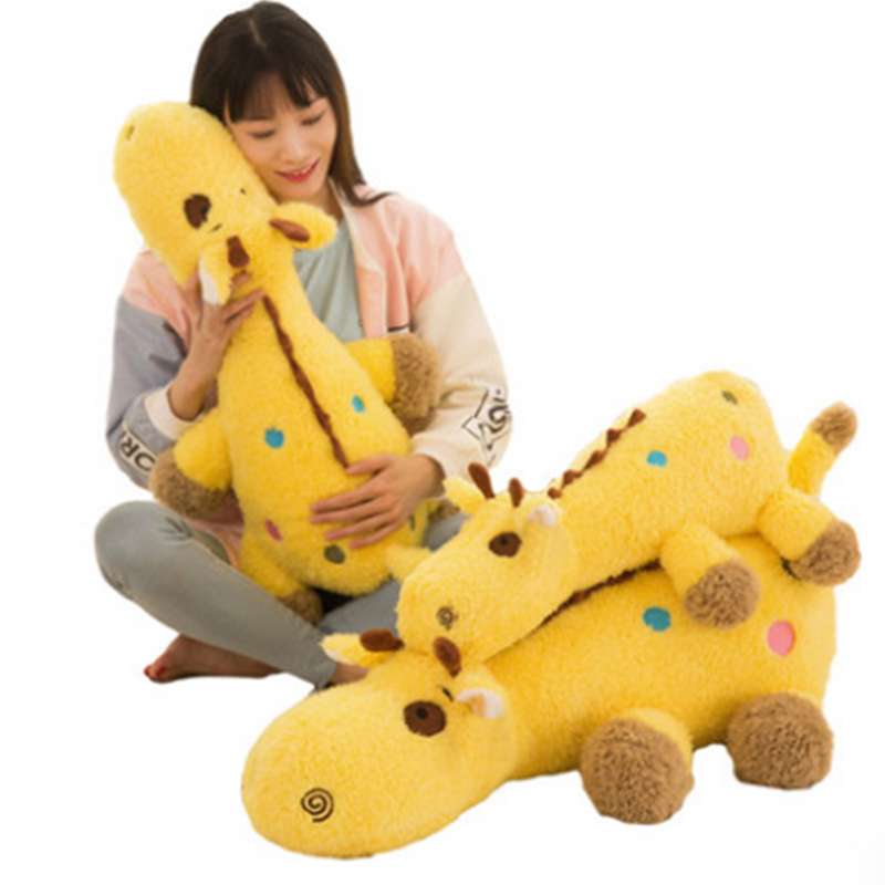 Fancytrader Giant Stuffed Sleeping Giraffe Pillow Doll Big Soft Lying Animals Giraffe Toys for Children 90cm 35inch fancytrader giant stuffed sleeping giraffe pillow doll big soft lying animals giraffe toys for children 90cm 35inch