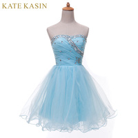 Premium Summer Women Fashion Masquerade Prom Ball Gown Special Occasion Beaded Short Cocktail Party Dresses 2015