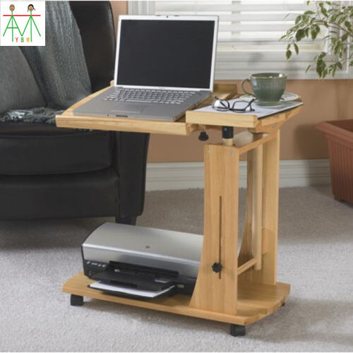 Wooden Bed Laptop Desk Can Removable Drop Wood Simple