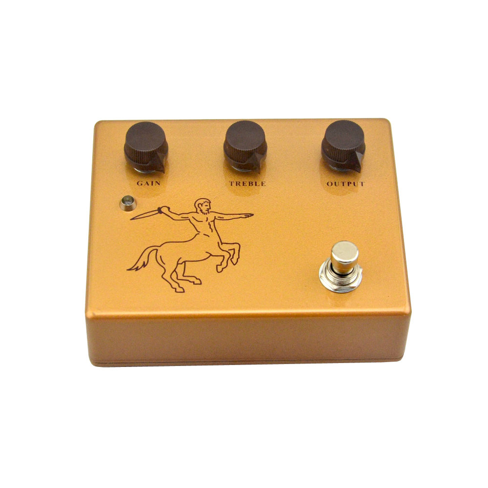 Klon Centaur Golden Professional Overdrive Guitar Effect Pedal Stomp ყუთი